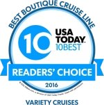 best boutique cruise line 10 usa today (2016)